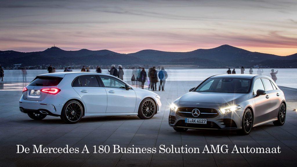 Mercedes A180 Leasen